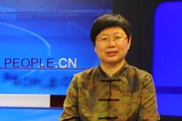 """刘余莉谈""""实现中国梦必须弘扬中华文化"""""""