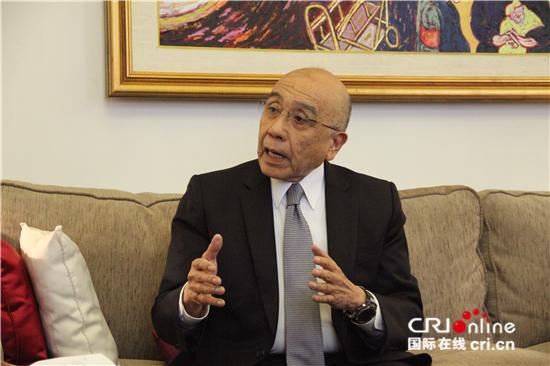 李子文 墨西哥前驻华大使               未来中国有能力在国际事务上承担更重要的责任。
